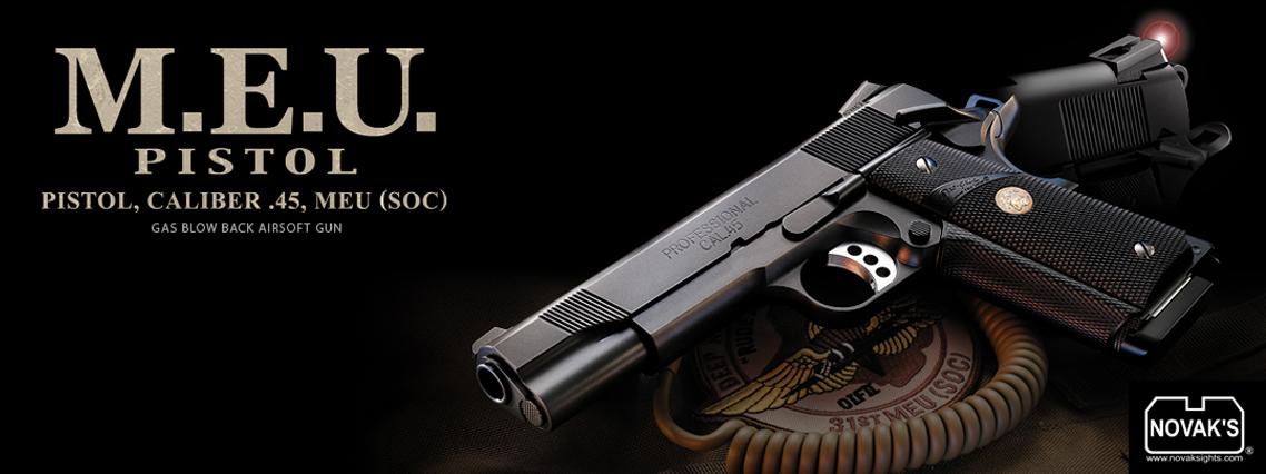 TOKYO MARUI M.E.U. GBB Pistol