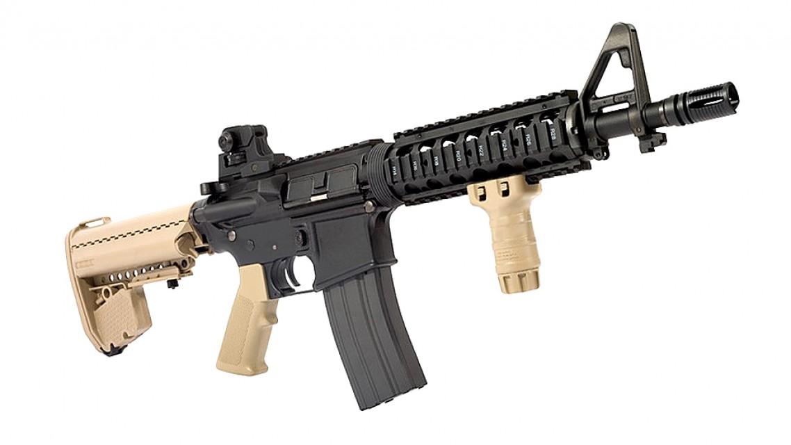 TOKYO MARUI M4 CQB-R SOPMOD EBB Rifle (Next Gen, FDE)