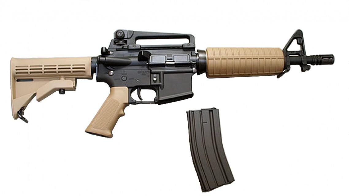 TOKYO MARUI M933 Commando AEG Rifle (Special Edition, Tan)