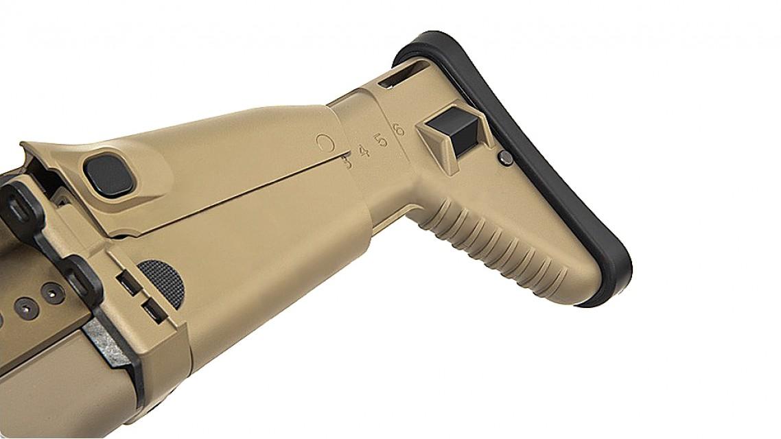 TOKYO MARUI SCAR-Heavy AEG Rifle (Dark Earth, Next Gen)
