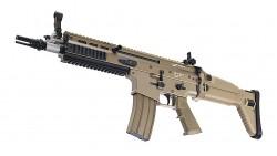 TOKYO MARUI SCAR-L CQC AEG Rifle (Dark Earth, Next Gen)