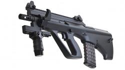 TOKYO MARUI STEYR AUG High Cycle AEG Rifle (Black)