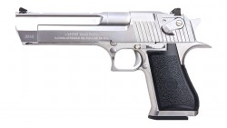 CYBERGUN DESERT EAGLE .50AE GBB PISTOL (SILVER, WE)