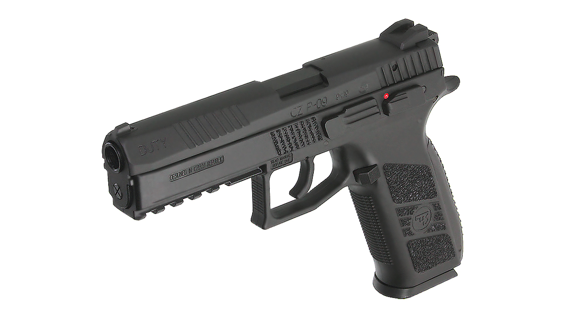 KJ WORKS CZ 75 P-09 Duty GBB Pistol (ASG, GAS)