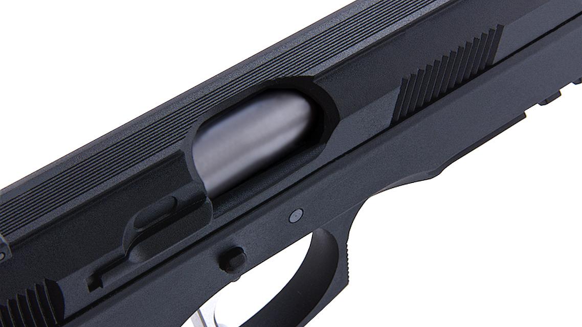 KJ WORKS CZ 75 SP-01 SHADOW ACCU CUSTOM GBB Pistol (CO2)