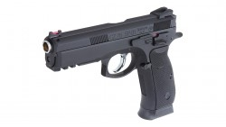 KJ WORKS CZ 75 SP-01 Shadow GBB Pistol (ASG, CO2)