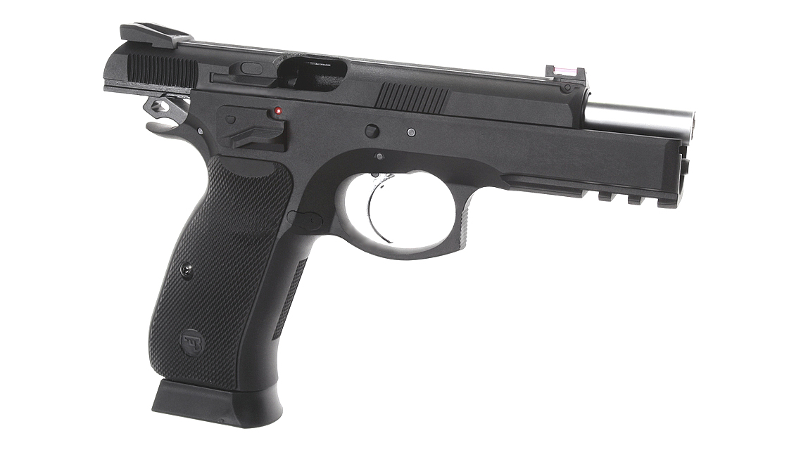 KJ WORKS CZ 75 SP-01 Shadow GBB Pistol (ASG)