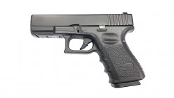 KJ WORKS G23 GBB Pistol Airsoft (Metal Slide Black)