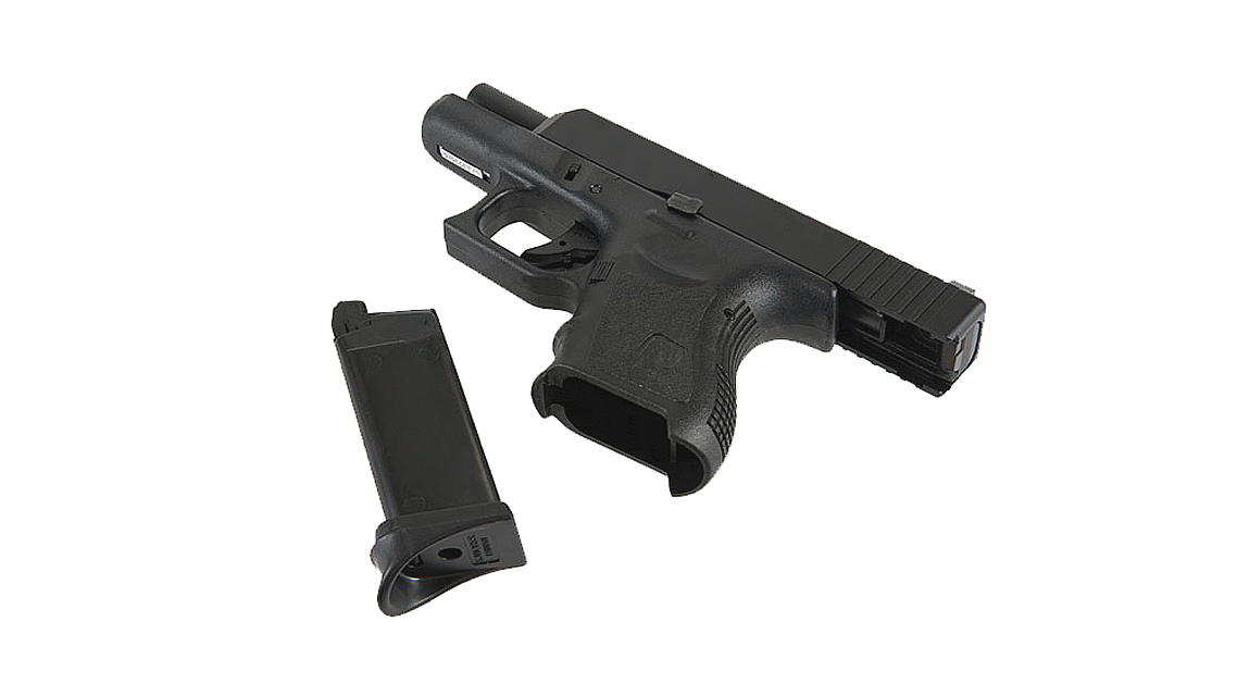 KJ WORKS G27 GBB Pistol Airsoft (Metal Slide Black)