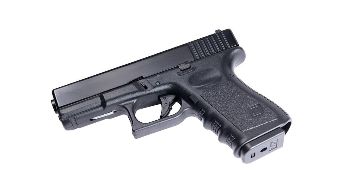 KJ WORKS KP-03 GBB Pistol Airsoft (G32C Metal Slide Black)