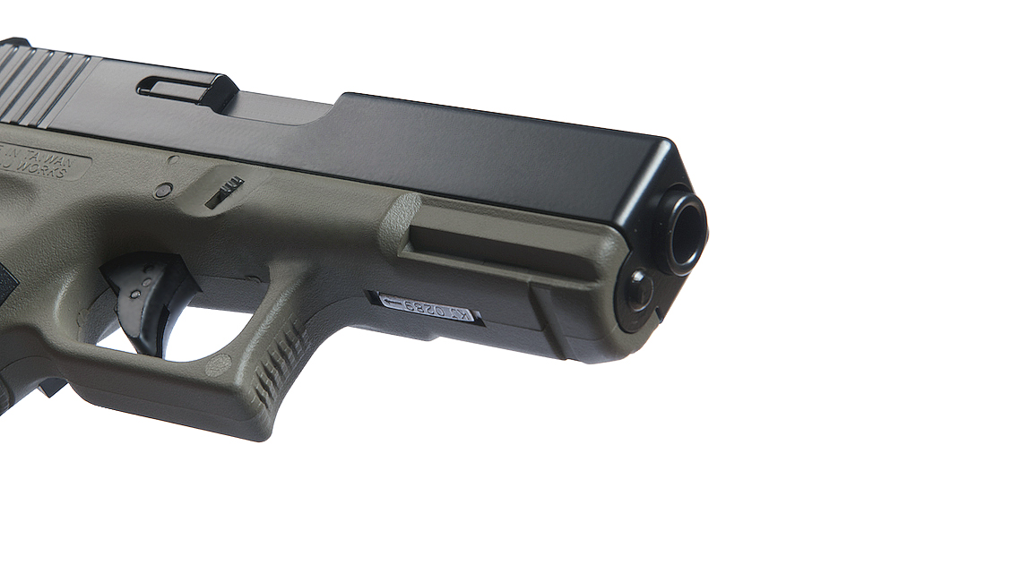 KJ WORKS KP-03 GBB Pistol Airsoft (G32C Metal Slide OD)