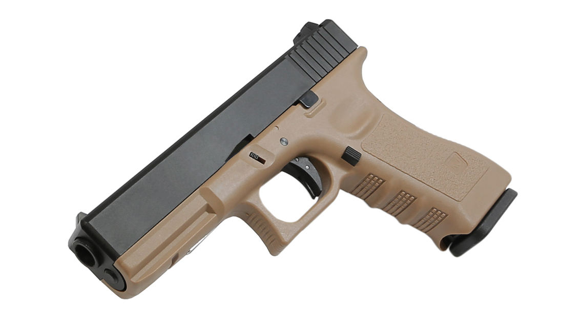 KJ WORKS KP-17 GBB Pistol Airsoft (G17  Tan CO2)