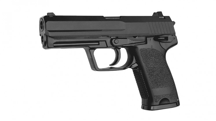 KJ WORKS P8 GBB Pistol (Metal Slide)