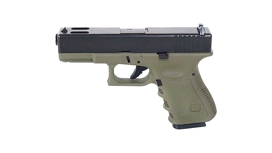 KJ WORKS KP-03 GBB Pistol Airsoft (G32C Metal Slide OD)