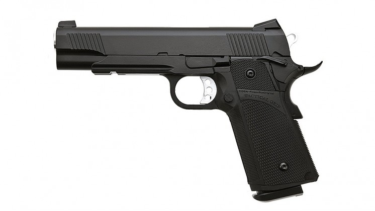 KJ WORKS KP-05 Hi-CAPA GBB Pistol (Metal, Black, GAS & CO2)