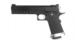 KJ WORKS KP-06 Hi-CAPA 5.1 GBB Pistol (Metal, Black, GAS & CO2)