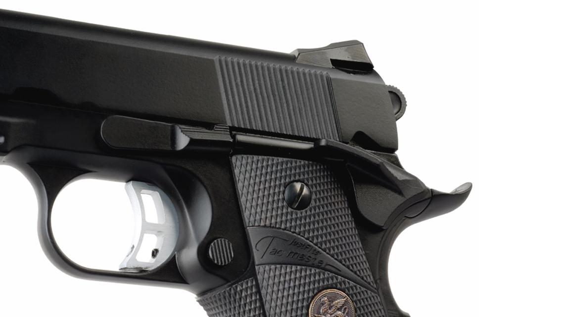 KJ WORKS KP-07 M.E.U. GBB Pistol (M1911, Metal, Black)