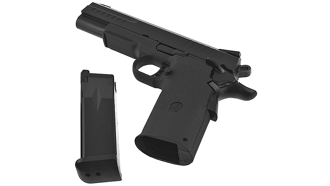 KJ WORKS KP-08 HI-CAPA GBB Pistol (Metal, Black, GAS)