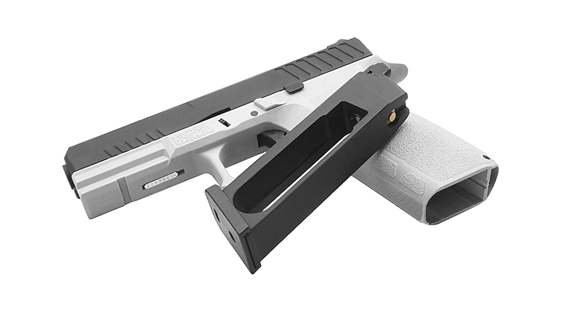 KJ WORKS KP-13 GBB PISTOL (CO2, URBAN GREY)