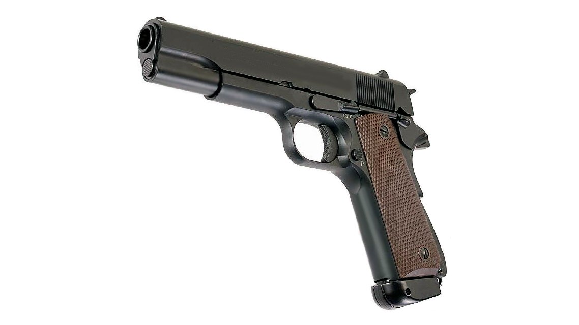 KJ WORKS M1911A1 GBB Pistol (Metal, Black, CO2)