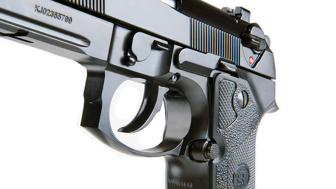 KJ WORKS M9 ELITE IA GBB Pistol (Full Metal, Gas)