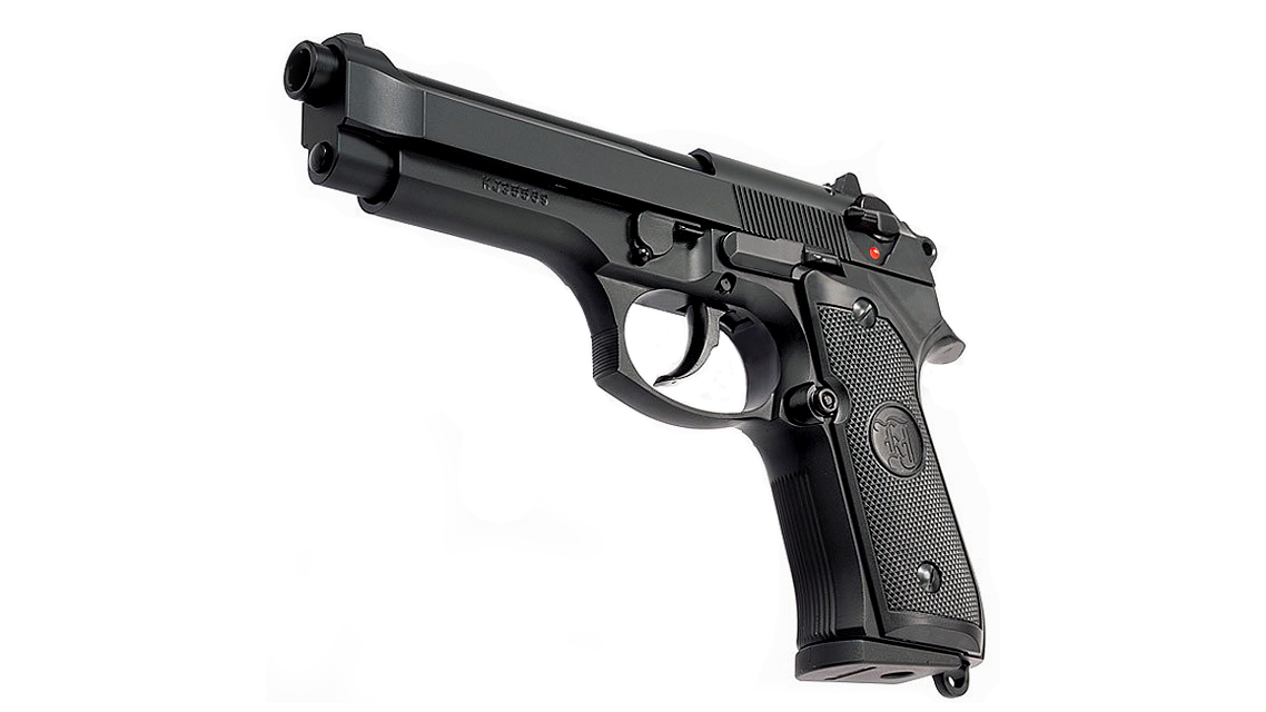 KJ WORKS M9 GBB Pistol (Full Metal, Black)