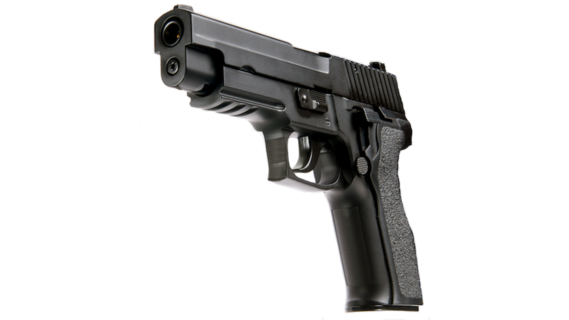 KJ WORKS KP-01 E2 GBB Pistol (P226 E2, Metal, GAS/CO2 Dual Power)