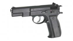 KSC CZ 75 GBB Pistol (System 7, Full Metal)