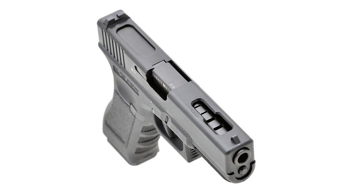 KSC G18C Railed Frame GBB Pistol Airsoft (Metal Slide)