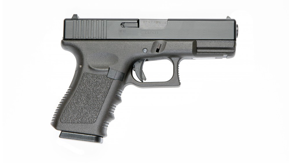 KSC G19 Railed Frame GBB Pistol Airsoft (Metal Slide)