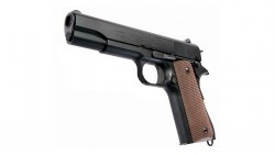 KSC M1911A1 GBB Pistol (Full Metal, Black, New Version)