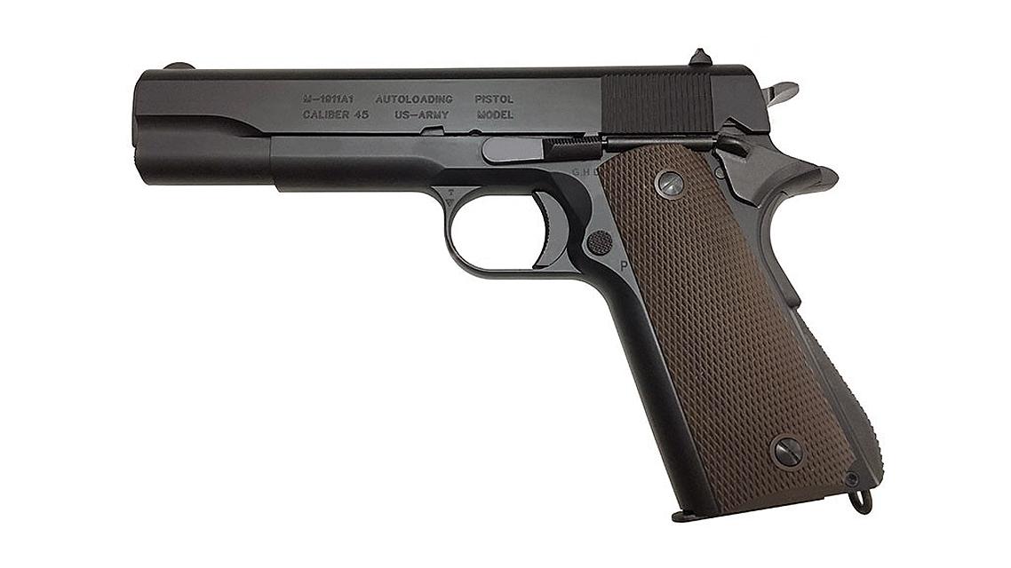 KSC M1911A1 GBB Pistol (Full Metal, Black, New Version)