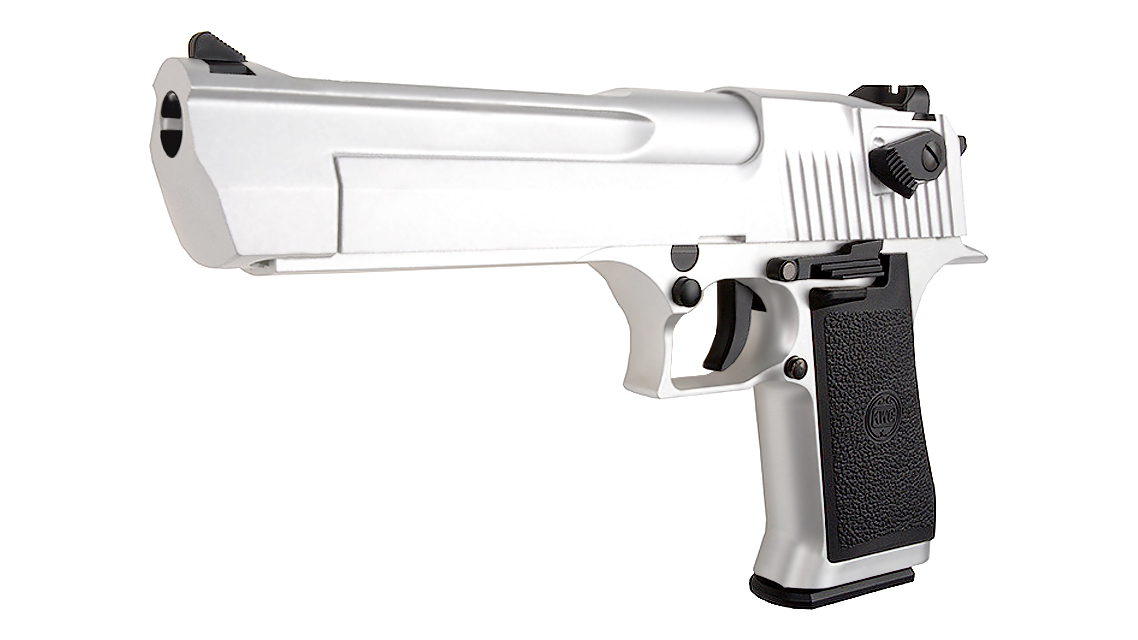 KWC DESERT EAGLE .50AE GBB PISTOL (CO2, Silver, 6mm)