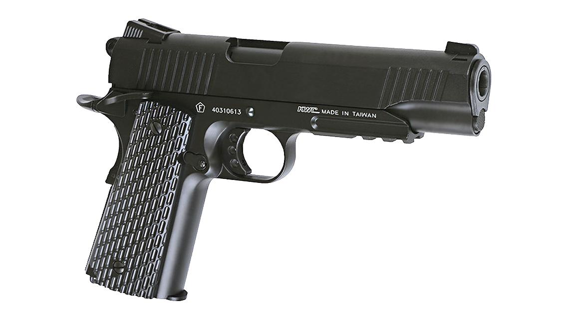 KWC M1911 A1 TAC GBB Pistol (CO2, 6mm)