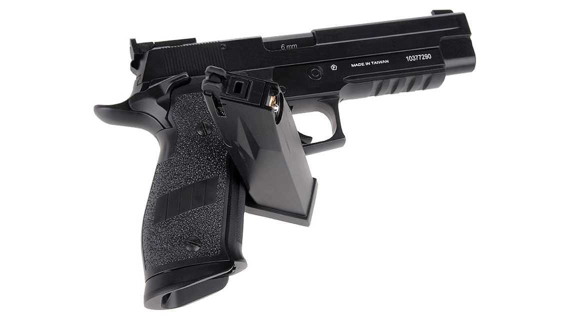 KWC P226 X-FIVE GBB PISTOL (CO2, 6mm)
