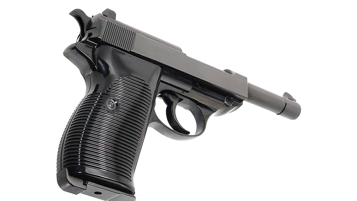 MARUZEN WALTHER P38 AC40 GBB PISTOL (BLACK)