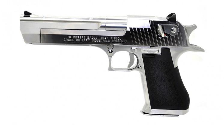 TOKYO MARUI Desert Eagle .50AE GBB Pistol Airsoft (Chrome Stainless)
