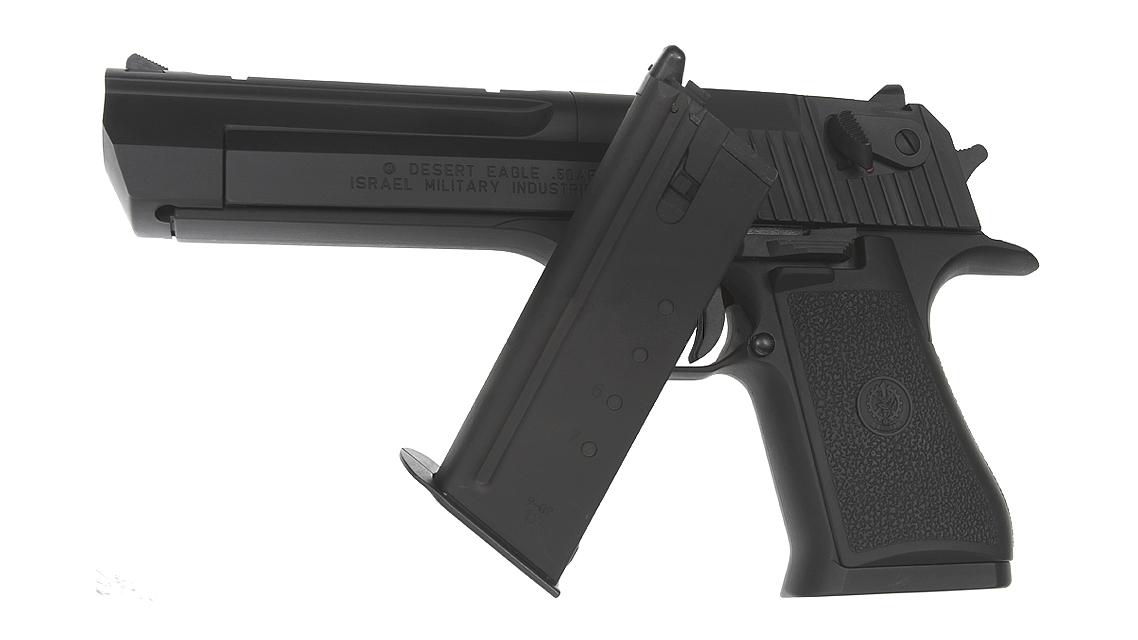 TOKYO MARUI Desert Eagle .50AE Hard Kick GBB Pistol Airsoft (Black)