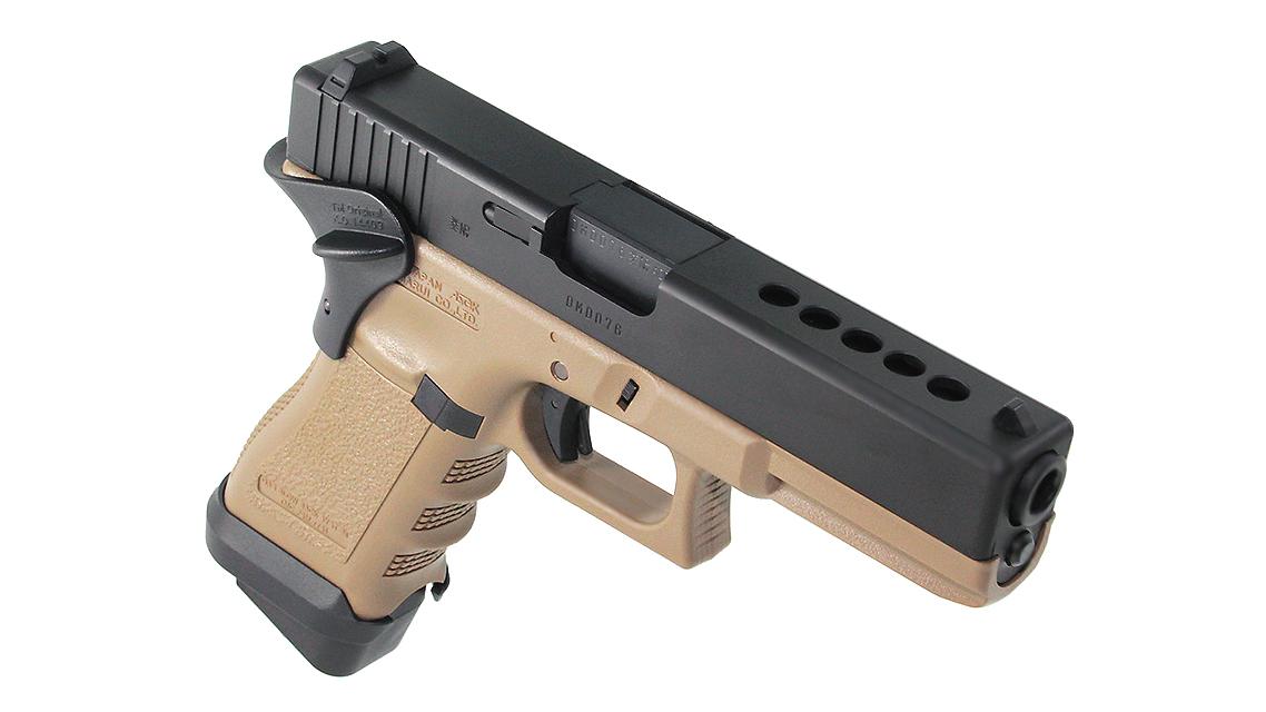 TOKYO MARUI G17 CUSTOM GBB Pistol (FLAT DARK EARTH)