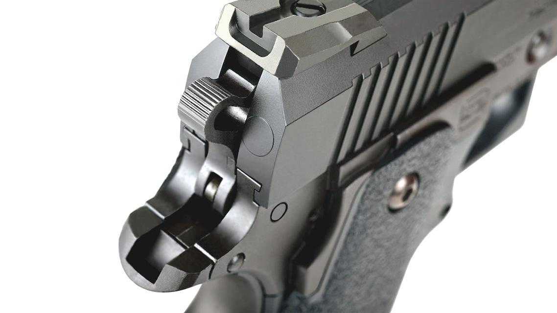 TOKYO MARUI HI-CAPA 4.3 Tactical Custom GBB Pistol