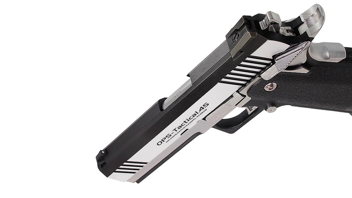 TOKYO MARUI HI-CAPA 4.3 Dual Stainless Custom GBB Pistol