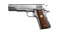TOKYO MARUI GOVERNMENT Mark IV SERIES 70 GBB Pistol (M1911, Nickel Finish)