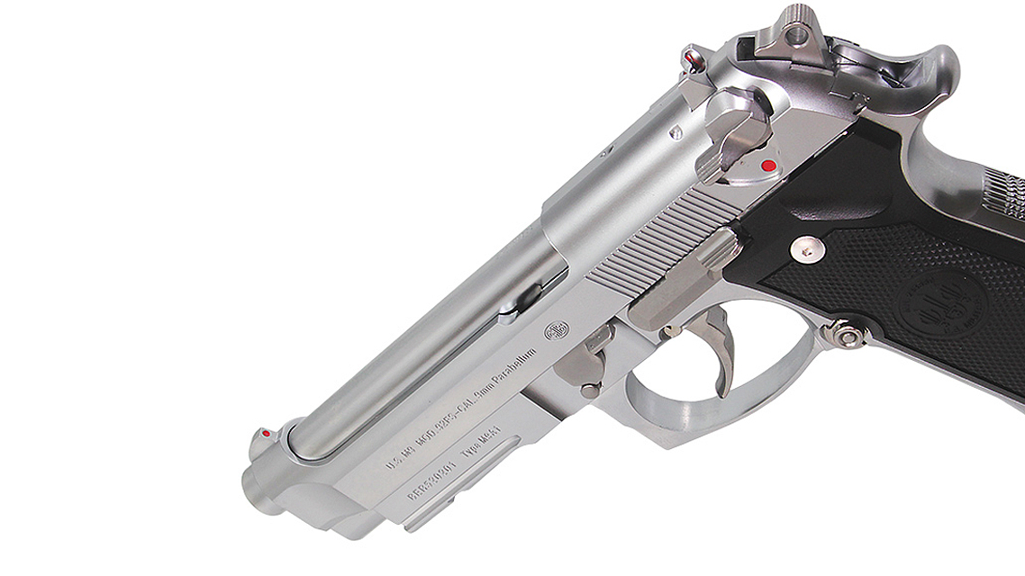 TOKYO MARUI M9A1 GBB Pistol Airsoft (Stainless Model)