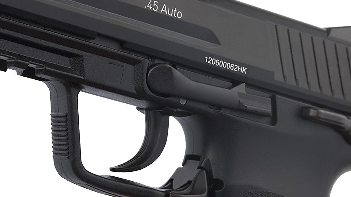 UMAREX H&K HK45 GBB Pistol (Metal Slide, Black)