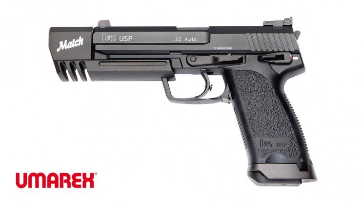 UMAREX H&K USP .45 MATCH GBB Pistol (Metal Slide)