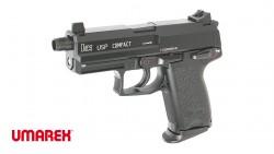 UMAREX H&K USP Compact Tactical GBB Pistol (Metal Slide)