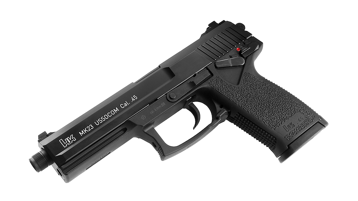 UMAREX H&K MK23 USSOCOM GBB Pistol (Full Metal)