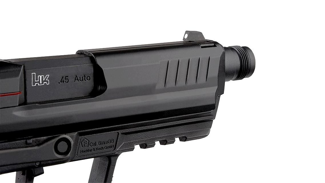 UMAREX H&K HK45 Compact Tactical GBB Pistol (Black)