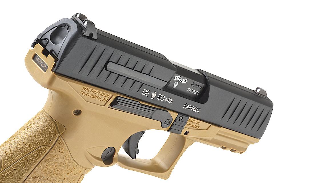 UMAREX WALTHER PPQ M2 GBB Pistol (TAN, 6mm)