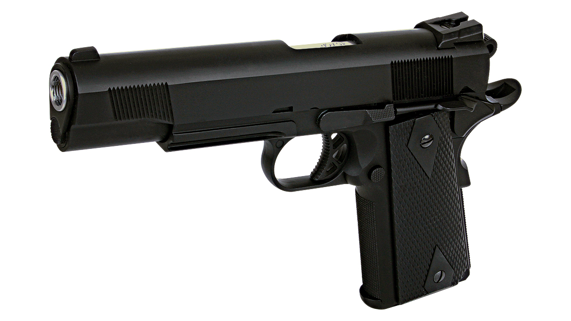 WE M1911 TACTICAL GBB Pistol (Full Metal)